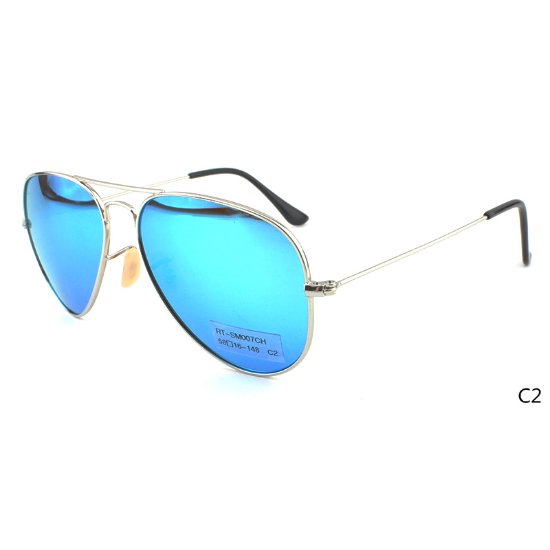 RT-SM007YY 58-16-148 Sunglasses Material:Metal & Polarized/Nylon lens
