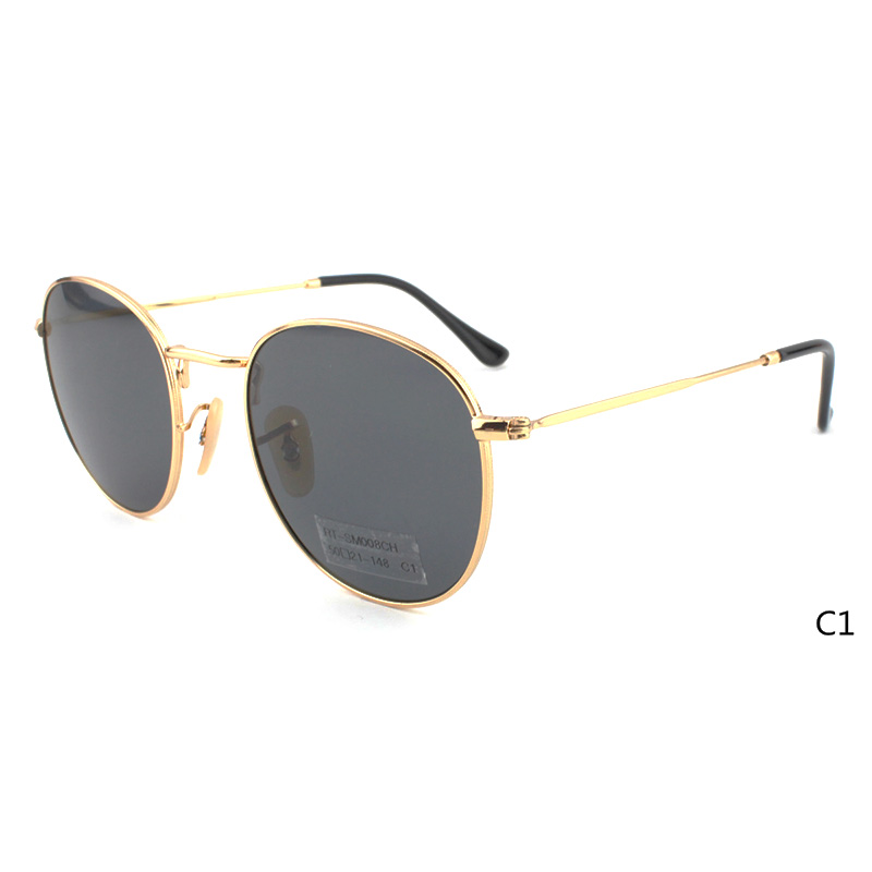 RT-SM008YY 50-21-148 Sunglasses Material:Metal & Polarized/Nylon lens